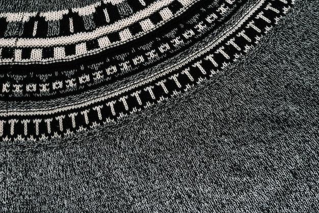 Têxtil cinza padrão Foto gratuita