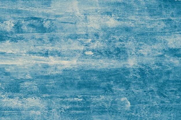 Textura abstrata azul do fundo da aguarela. superfície pintada de grunge, modelo de tinta com borrões, desenho vintage, aquarelle escuro. Foto Premium