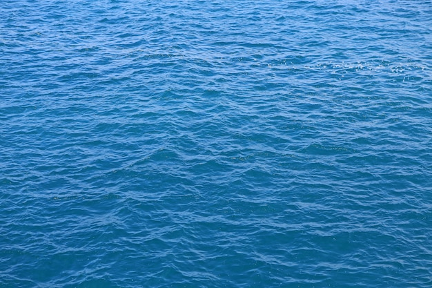Textura abstrata do mar da água azul. Foto Premium