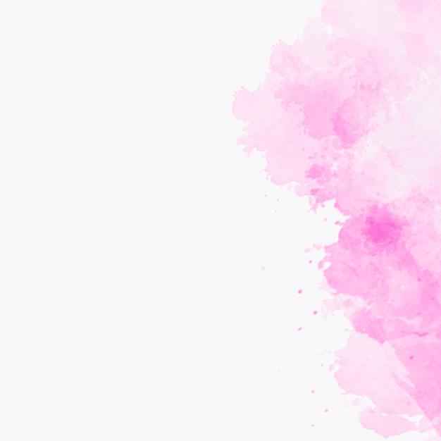 Textura aquarela rosa com copyspace para a esquerda Foto gratuita