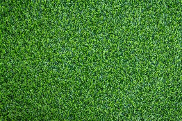 Textura artificial de grama verde pode ser usada como plano de fundo Foto Premium