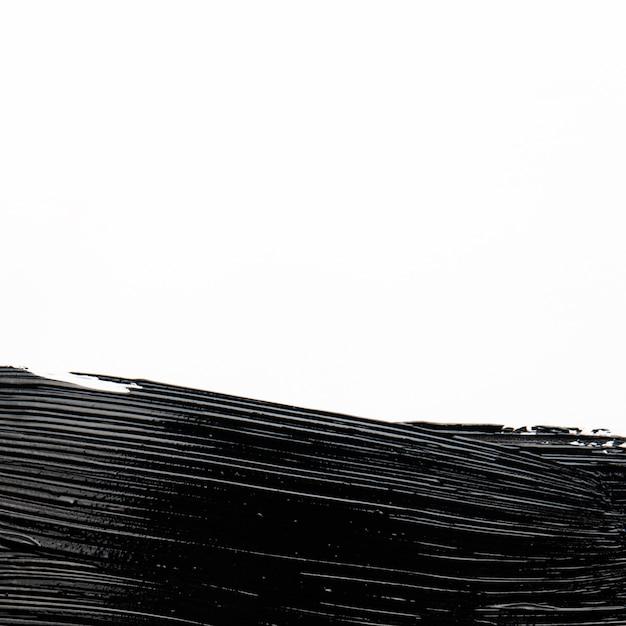 Textura artística de pincelada de tinta Foto gratuita