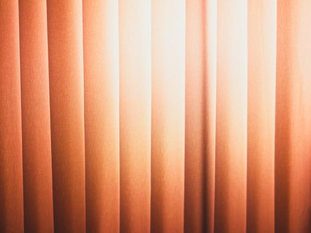 Textura bege da cortina para o fundo do estágio. Foto Premium