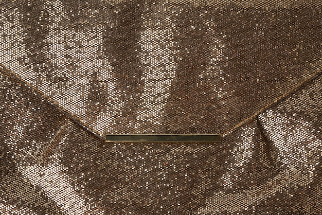 Textura brilhante de couro dourado, Foto Premium