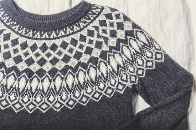 Textura camisola Foto Premium