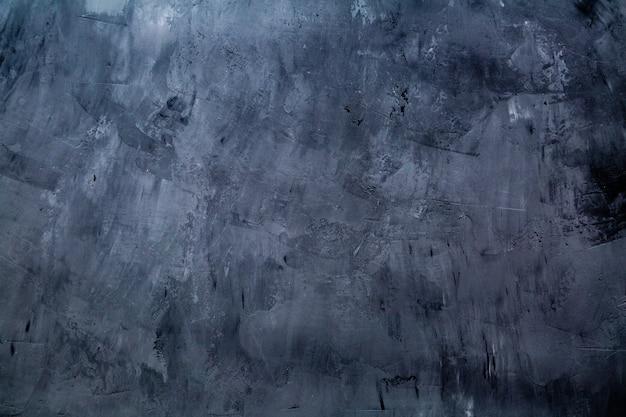 Textura concreta ou de pedra da arte para o fundo em cores pretas, cinzentas e brancas Foto Premium