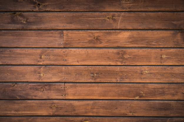 Textura da fatura natural da árvore do fundo velho das placas de madeira do vintage. Foto Premium