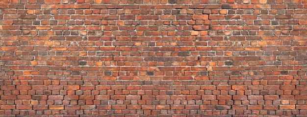 Textura da parede de tijolo, fundo da alvenaria velha. Foto Premium