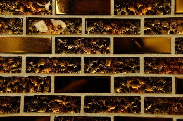 Textura de azulejos finos, close-up Foto Premium