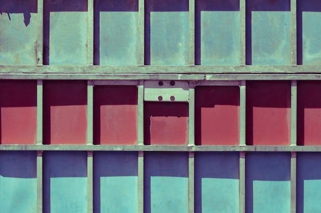 Textura, de, cima, estrutura metal Foto gratuita
