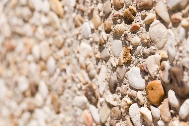 Textura de close-up de pedras Foto gratuita