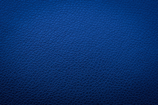 Textura de couro azul para o fundo, abstrato do sofá Foto Premium