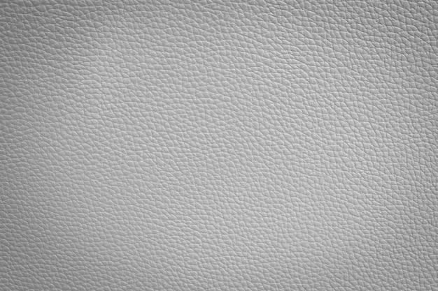 Textura de couro branco Foto Premium