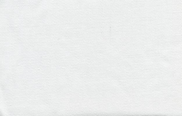 Textura de foto de tecido branco de um fio fino Foto Premium