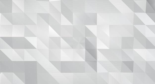 Textura de fundo abstrato branco 3d com formas geométricas. renderização 3d. Foto Premium