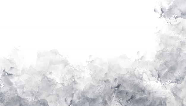 Textura de fundo cinza aquarela Foto Premium