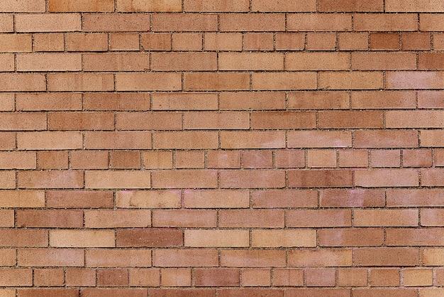 Textura de fundo de parede de tijolo marrom velho Foto Premium
