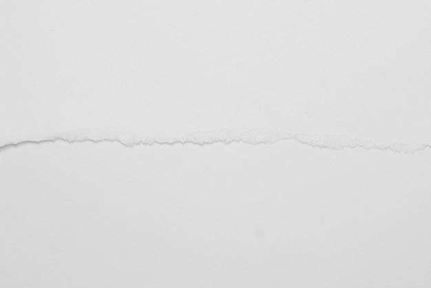 Textura de fundo grunge papel rasgado branco para design Foto Premium