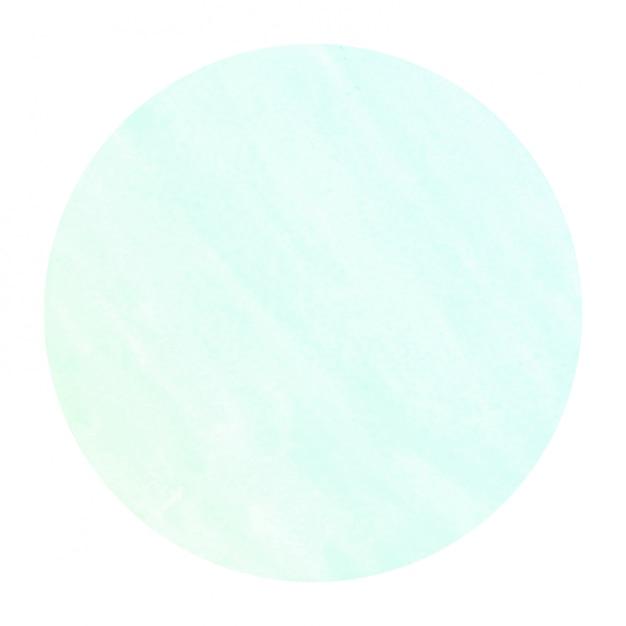 Textura de fundo turquesa mão desenhada moldura circular aquarela com manchas Foto Premium