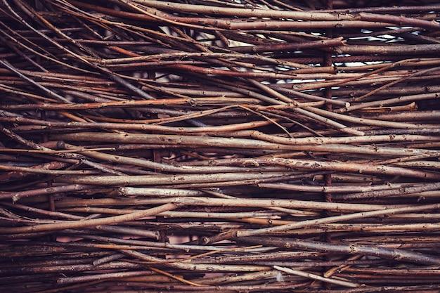 Textura de galhos secos Foto Premium
