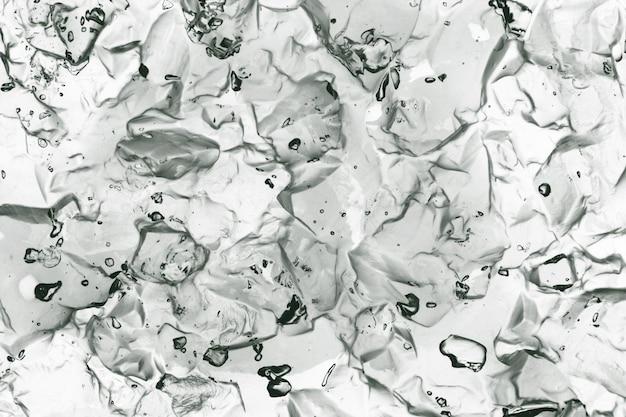Textura de geléia cosmética clara Foto Premium
