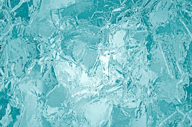 Textura de gelo congelado ilustrada Foto Premium