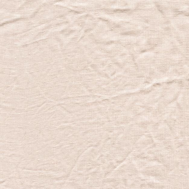 Textura de lona branca. fundo de linho branco natural Foto Premium