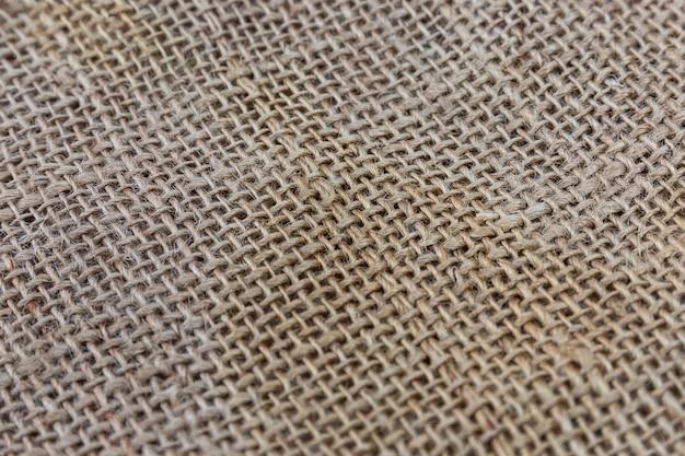 Textura de lona marrom. fechar-se. fundo. espaço para texto. Foto Premium