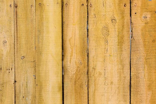 Textura de madeira antiga pintada de amarelo Foto gratuita