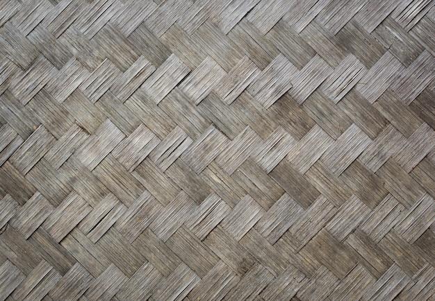 Textura de madeira de bambu velha para o fundo Foto gratuita