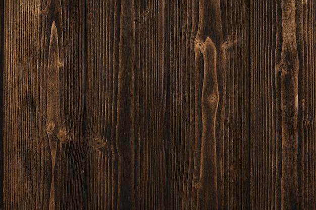 Textura de madeira marrom escura com fundo listrado natural Foto Premium
