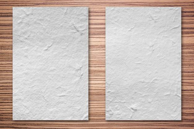 Textura de madeira marrom Foto Premium