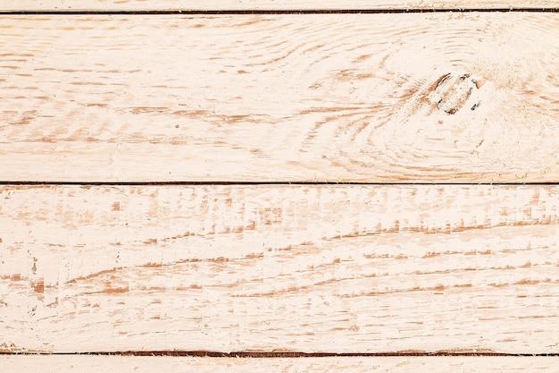 Textura de madeira pintada branca surrada resistida vintage Foto Premium
