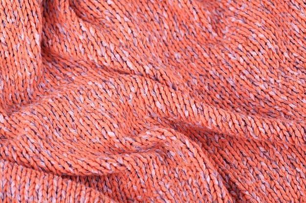 Textura de malha, produto de lã. Foto Premium