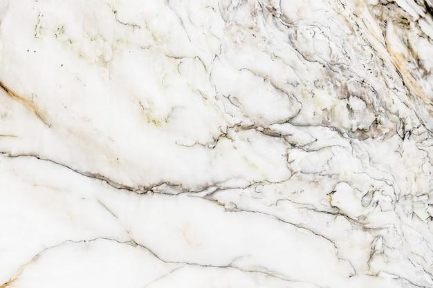 Textura de mármore branco natural polido com padrão escuro para o trabalho de arte de fundo ou design Foto Premium