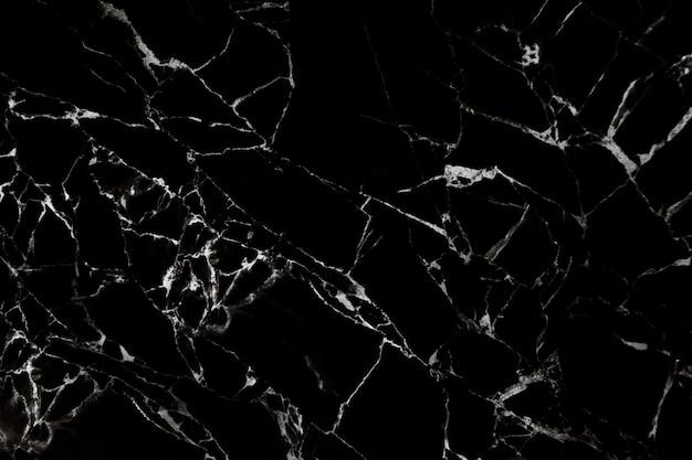 Textura de mármore preta com padrão natural Foto Premium