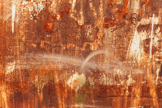 Textura de metal enferrujado com rebites Foto Premium