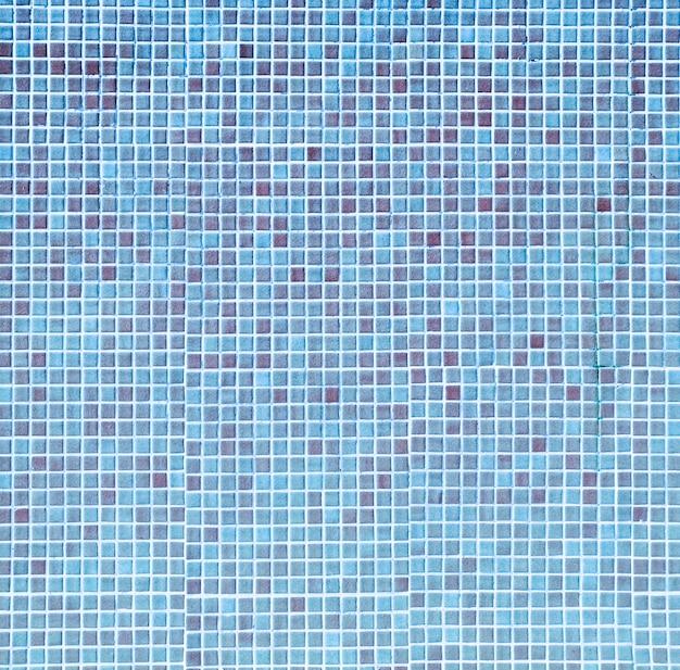 Textura de mosaico azul piscina Foto gratuita