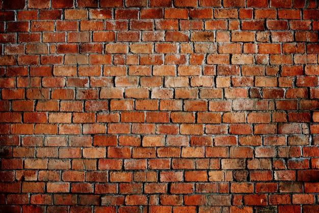 Textura de padrão de parede de tijolo vermelho Foto gratuita