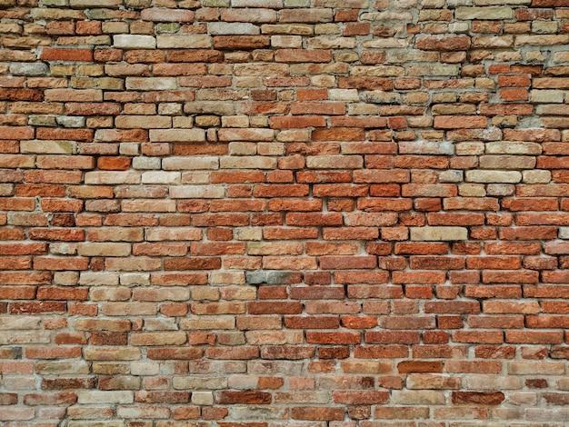 Textura de padrão de parede de tijolo Foto gratuita