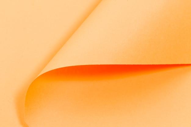 Textura de páginas encaracolado laranja com espaço de cópia Foto gratuita