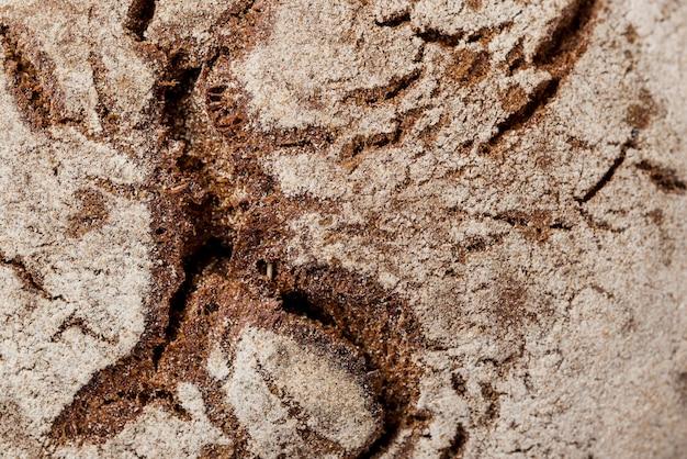 Textura de pão integral de close-up extremo Foto gratuita