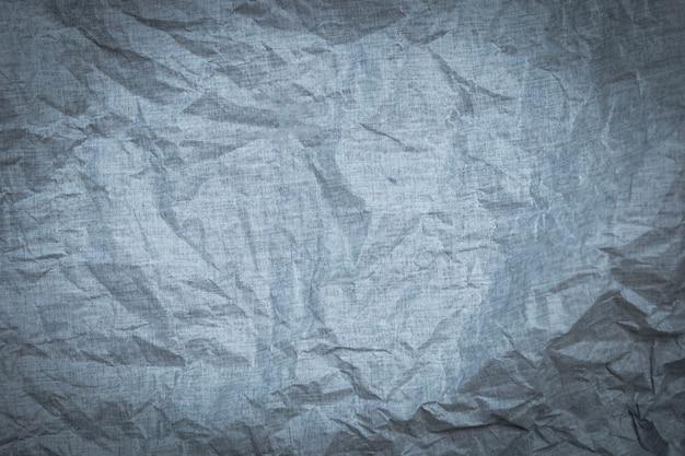 Textura de papel amassado cinza para plano de fundo papel de parede Foto Premium