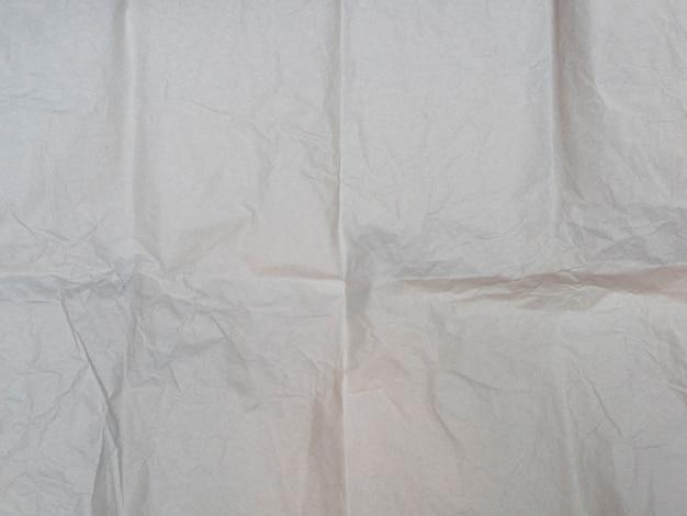 Textura de papel amassado close-up Foto gratuita