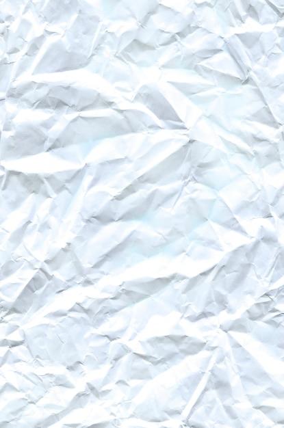 Textura de papel amassado Foto Premium