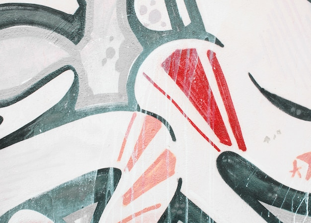 Textura de papel de parede detalhe graffiti ou fundo Foto Premium