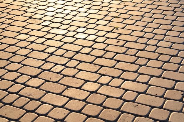 Textura de paralelepípedos Foto Premium
