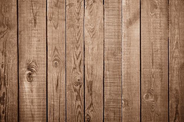 Textura de parede de madeira marrom velha Foto Premium
