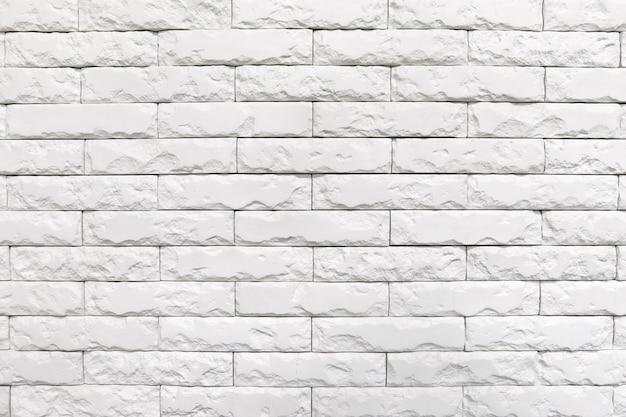 Textura de parede de tijolo branco Foto Premium