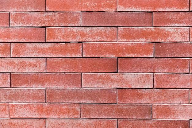 Textura de parede de tijolo close-up Foto gratuita
